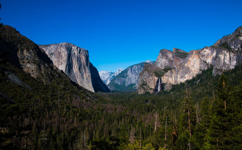 Yosemite Park – No pain no gain