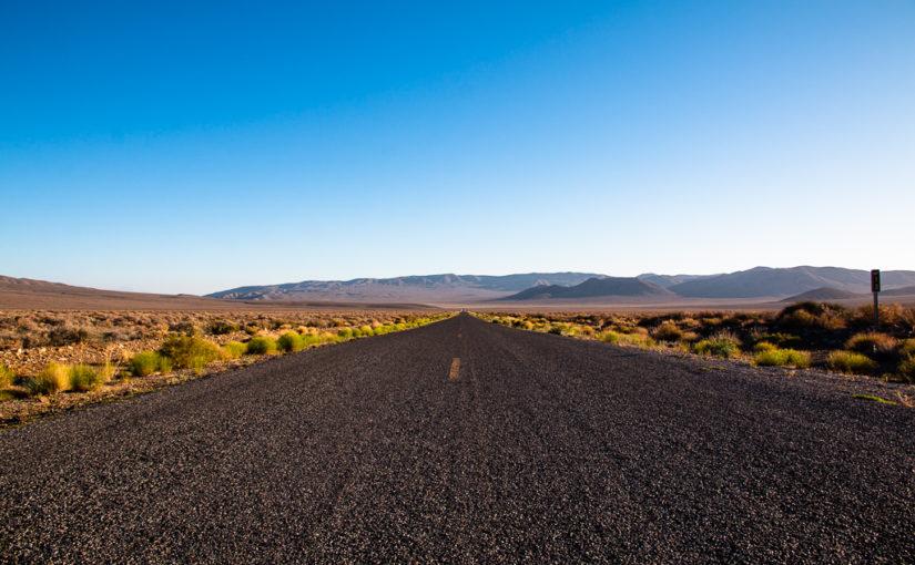 Schießen, Sequoia und Death Valley