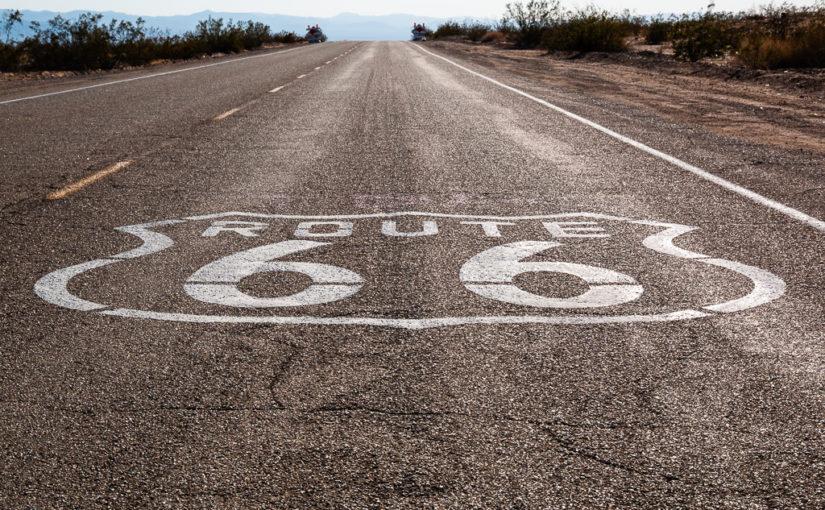 Route 66 über Joshua Tree NP nach LA